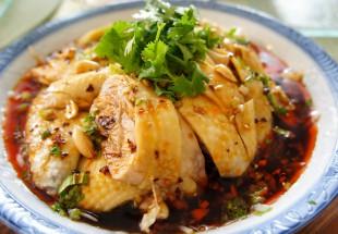 山城口水鶏(特製麻辣ソースのよだれ鶏)