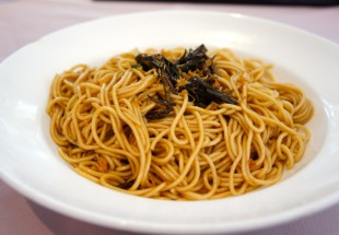 葱油拌面(焦がし葱の和え麺)